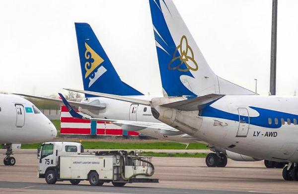 Динамика роста пассажиропотока казахстанских авиакомпаний сократилась в 3,4 раза